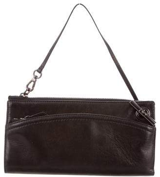 Reed Krakoff Leather Zip Clutch