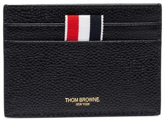 Thom Browne leather single card holder