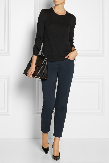 J Brand Piper cotton-blend twill skinny pants