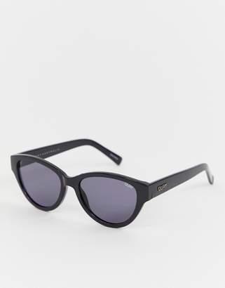 Quay rizzo slim cat eye sunglasses