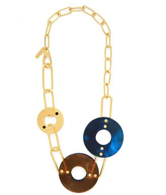 Marni Chain and disc necklace