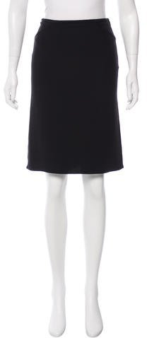 Armani Collezioni Knee-Length Pencil Skirt w/ Tags