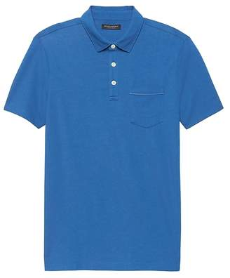 Banana Republic Luxury-Touch Chest Pocket Polo