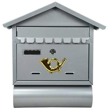 ALEKO Locking Wall Mounted Mailbox