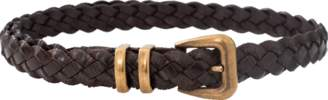 Brunello Cucinelli Braided Leather Belt
