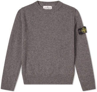 Stone Island Junior Lambswool Crew Knit