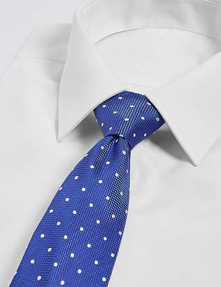 Marks and Spencer Pure Silk Spotted Tie