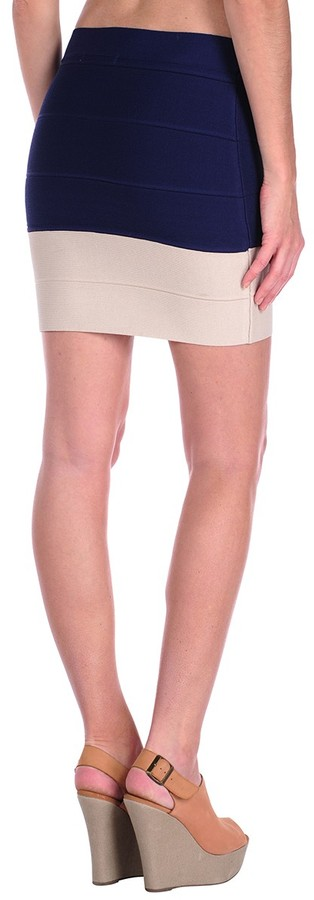 Romeo & Juliet Couture Color Block Banded Skirt