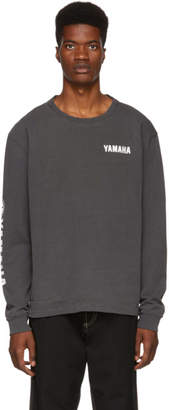 John Elliott Black Yamaha Edition Classic Long Sleeve T-Shirt