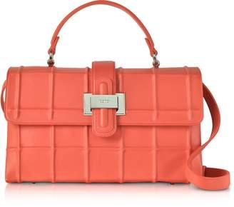 Rodo Poppy Nappa Leather Lunch Bag