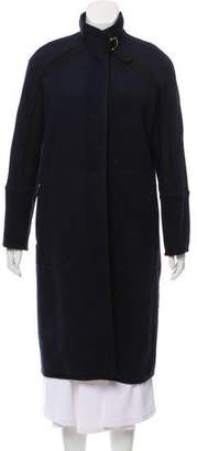 Tara Jarmon Long Wool-Blend Coat w/ Tags