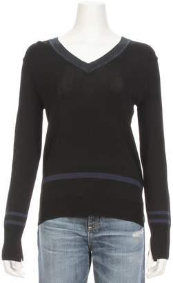 Maison Scotch V-Neck Nylon Sweater
