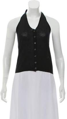Etro Sleeveless Button-Up Top