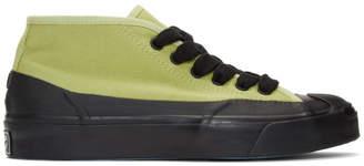 Converse Green A$AP Nast Edition JP Chukka Mid Pump High-Top Sneakers