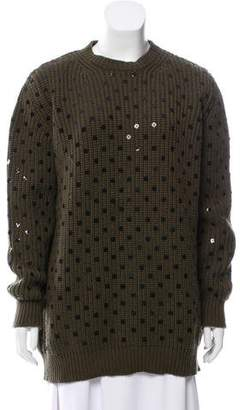 Givenchy Oversize Sequin Embellished Sweater