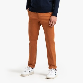 """La Redoute COLLECTIONS Cotton Slim Fit Chinos, Length 32"""""""