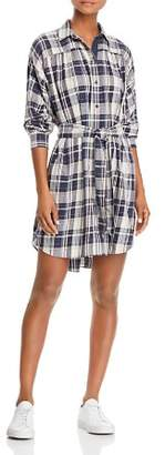 ATM Anthony Thomas Melillo Plaid Shirt Dress