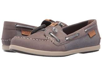 Sperry Coil Ivy Leather Canvas Women's Moccasin Shoes