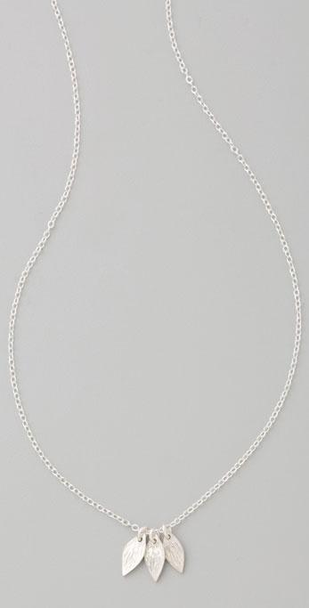 Gorjana Vine Cluster Necklace