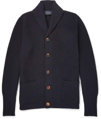 Thom Sweeney Slim-Fit Shawl-Collar Cashmere Cardigan