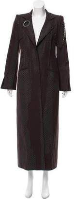 Just Cavalli Virgin Wool Long Coat