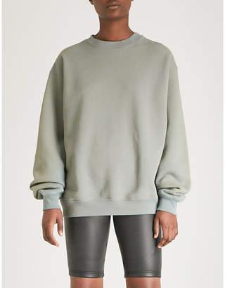 Yeezy Season 6 faded cotton-jersey sweatshirt