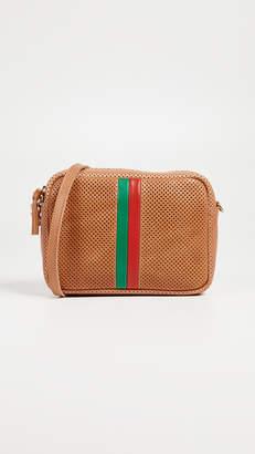 Clare Vivier Perf Desert Stripe Midi Bag
