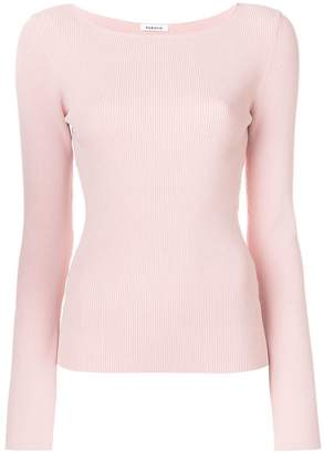 P.A.R.O.S.H. long sleeved knitted top