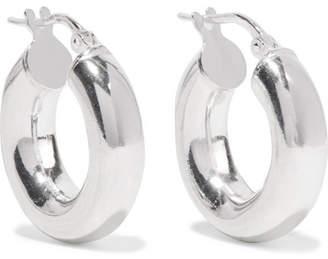 Sophie Buhai - Silver Hoop Earrings - one size