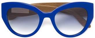 Dolce & Gabbana Eyewear Carretto Siciliano detail sunglasses
