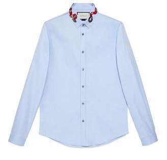 Gucci Oxford Duke shirt with Kingsnake