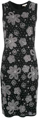 MICHAEL Michael Kors flower studded pencil dress
