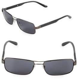 Carrera 57MM Rectangle Sunglasses