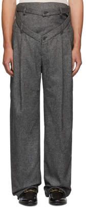 Y/Project Grey V-Cut Trousers