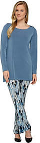 Women with Control Attitudes by Renee Regular Radiant Knit Tunic &Pants Set