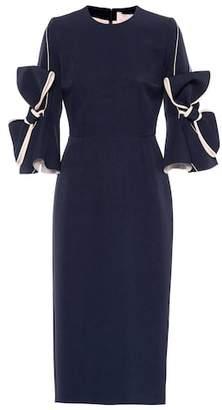 Roksanda Lavete stretch crêpe dress
