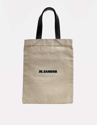 Jil Sander Medium Flat Shopper Tote