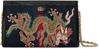 Gucci Ophidia embroidered medium shoulder bag