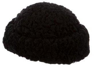 Persian Lamb Pill Box Hat