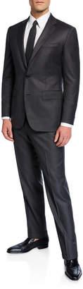 Neiman Marcus Men's Solid Two-Piece Suit