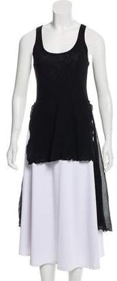 Jean Paul Gaultier Soleil Sleeveless High-Low Tunic