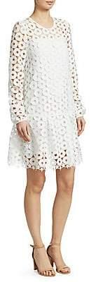 No.21 No. 21 No. 21 Women's Star Cut-Out Drop-Waist Dress