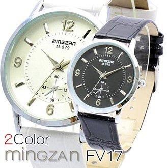Bel Air Collection FV17 6時位置にスモールセコンドが配置されたシンプルかつ上品なデザイン ユニセックス 腕時計 [保証書付] (ブラック)