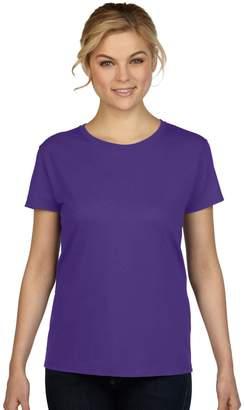 Gildan Ladies/Womens Heavy Cotton Missy Fit Short Sleeve T-Shirt (L)
