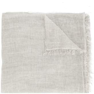 Marc Cain wide distressed scarf