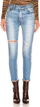 Moussy Vintage Cooper Skinny in Light Blue | FWRD