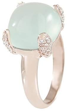 Bronzallure Chalcedony WSBZ00501.LB-Bronze Ring pink