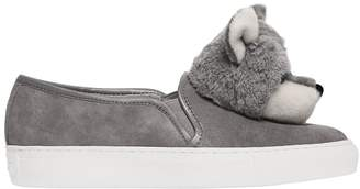 Katy Perry 20mm Foxy Suede Slip On Sneakers