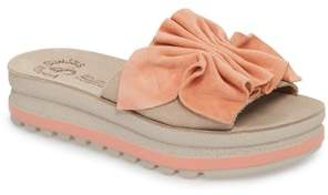 FANTASY SANDALS Fiorella Platform Slide Sandal
