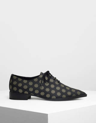 Charles & Keith Pointed Oxfords